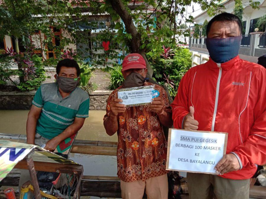 Photo of Gerakan 1.000 Masker SMA PUI Gegesik Untuk Tangkal Covid-19