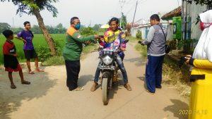 Brigade Intisab PUI Bangau Putih Subang Utara Peduli Korona