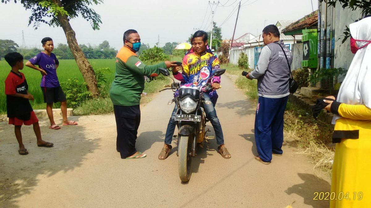 Photo of Brigade Intisab PUI Bangau Putih Subang Utara Peduli Korona