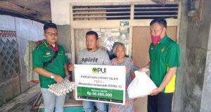 PUI Bagikan Sembako Untuk Masyarakat Terdampak Covid-19 Di Pelosok Sukabumi
