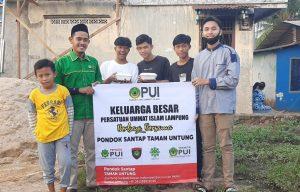 DPW Pemuda PUI Lampung Gelar Program Melihat Tetangga