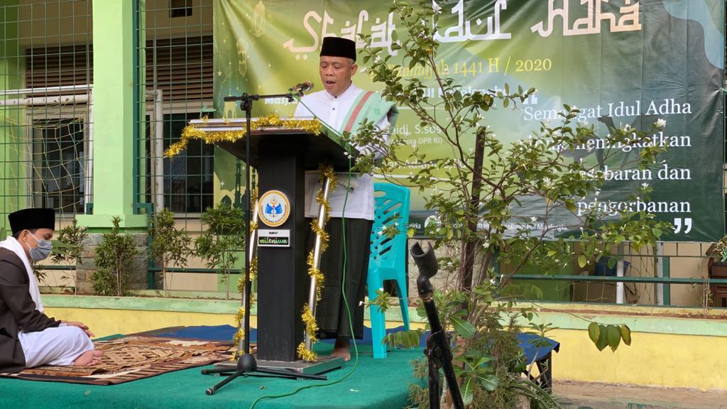 Nurhasan : Idul Adha Sarana Peningkatan Kepedulian Sosial Umat Islam