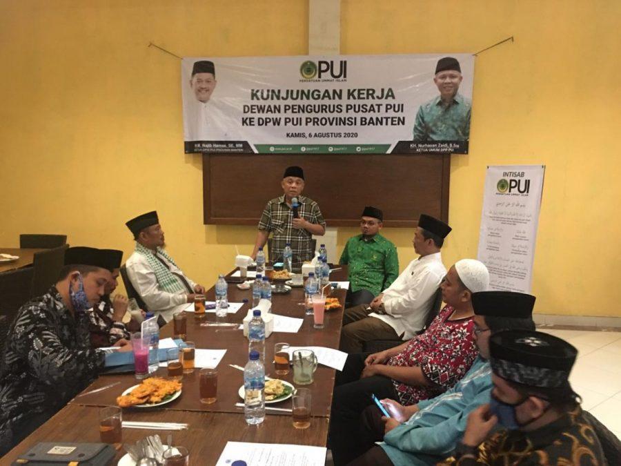Nurhasan : PUI Banten Harus Siap Menghadapi Era Disrupsi