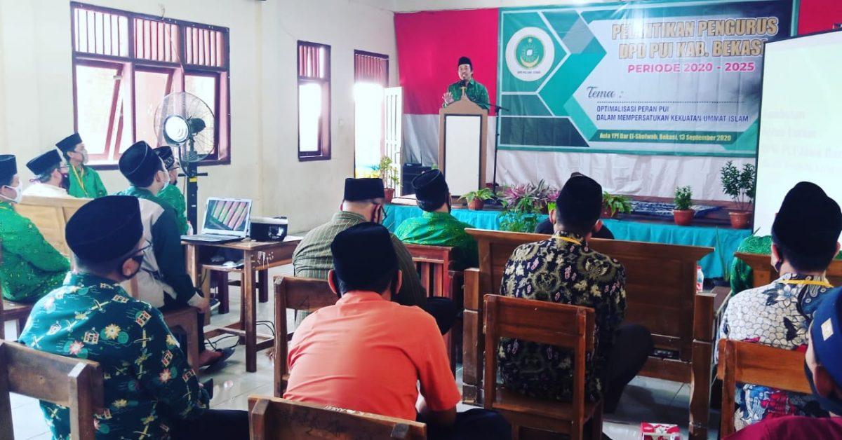 Photo of Pengurus PUI Bekasi Periode 2020-2025 Resmi Dilantik