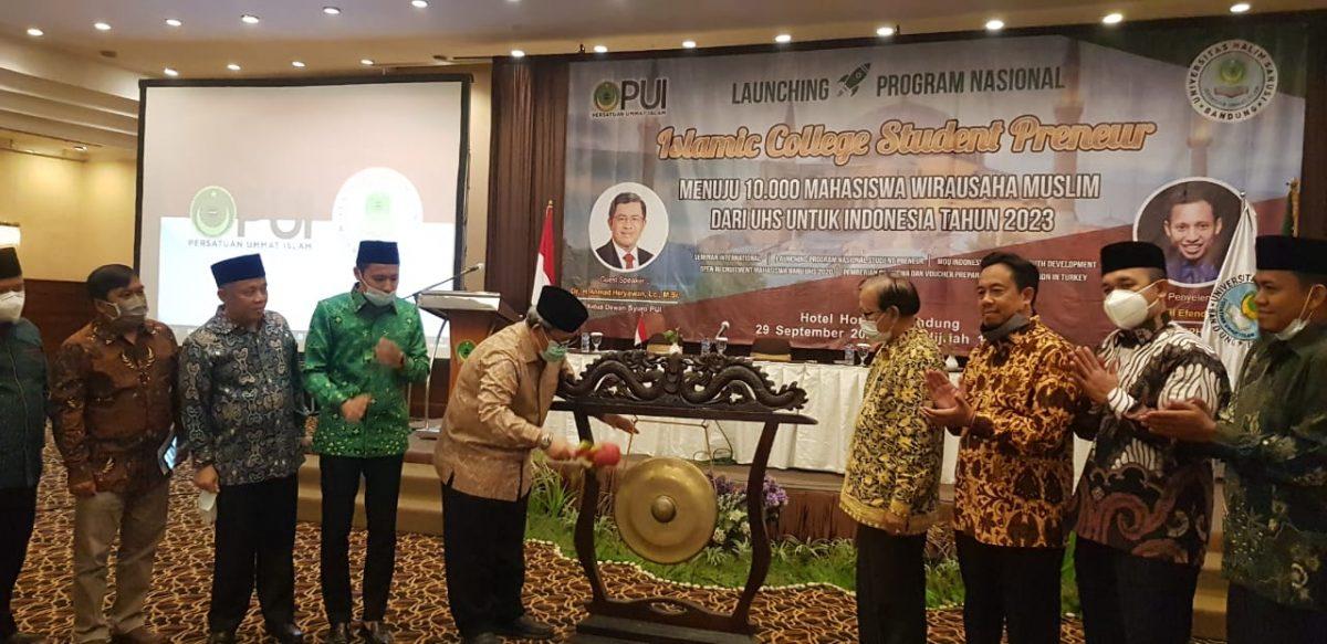 Launching ICSP, UHS Siap Cetak 10.000 Mahasiswa Wirausaha Muslim