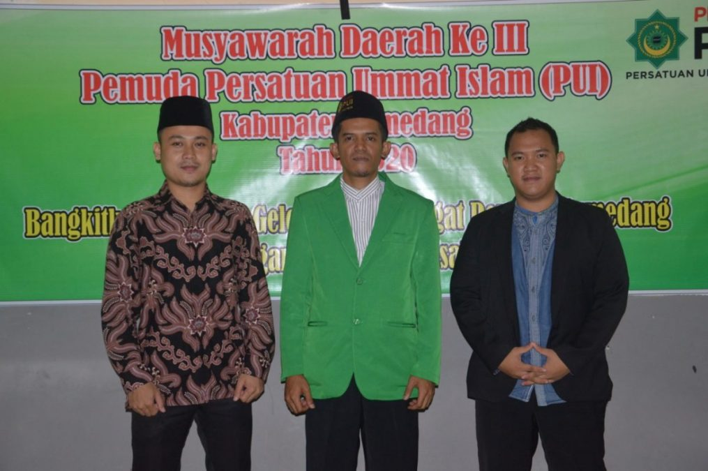 Photo of Yogi S Prayoga Terpilih Jadi Ketua Pemuda PUI Sumedang