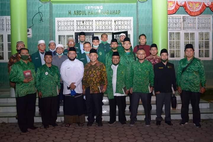 PW PUI Sumut dan PW Al-Washliyah Sumut Jalin Ta'aruf dalam Berorganisasi