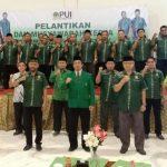 Resmi Dilantik, PD PUI Kabupaten Kuningan Siap Kuatkan Ekonomi Ummat