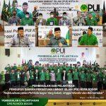 DPD PUI Kota Bogor Periode 2020-2025 Dilantik dan Diberi Pembekalan
