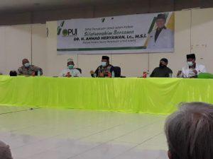 Optimalkan Peran Struktur dan Jemaah, DPW PUI Kalbar Optimis Wujudkan Islam Wasathiyyah