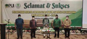 Syafii Efendi Jadi Rektor UHS Persatuan Ummat Islam Bandung, Sekaligus Rektor Termuda