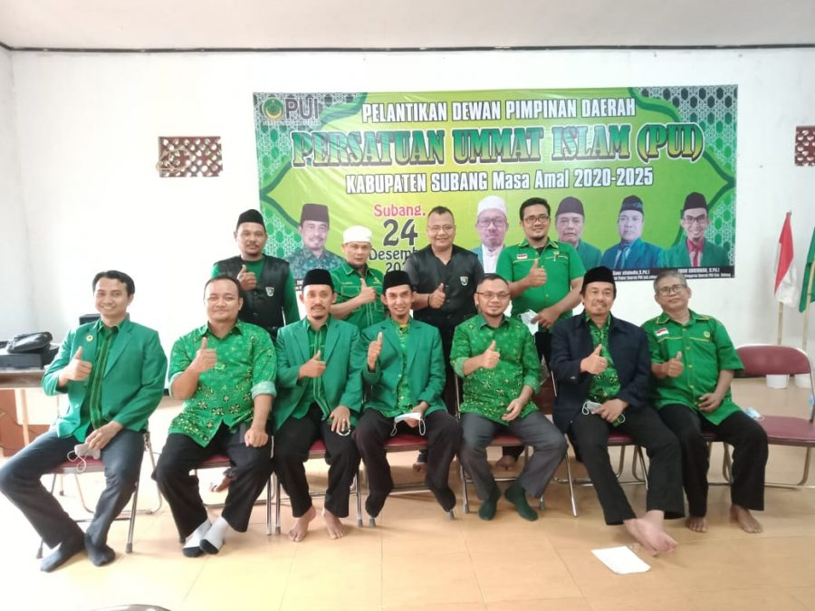 Photo of PD PUI Subang Periode 2020-2025 Resmi Dilantik
